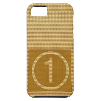 GOLD Stripe - Give away NUMBER ONE Gift iPhone 5 Cover