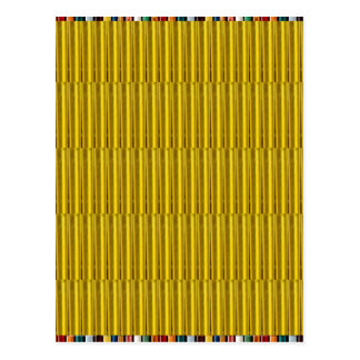 Gold Stripes Elegant Lowprice Giveaway Gifts Love Postcards