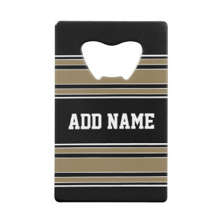 Gold Stripes Sports Jersey Name - CAN EDIT COLOR
