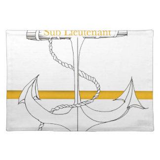 gold sub lieutenant, tony fernandes placemat