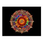 Gold Symbolic Sun Mandala