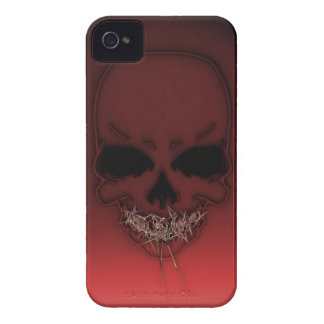 Gold Teeth Skully iPhone 4 Case-Mate Case