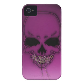 Gold Teeth Skully iPhone 4 Case-Mate Cases