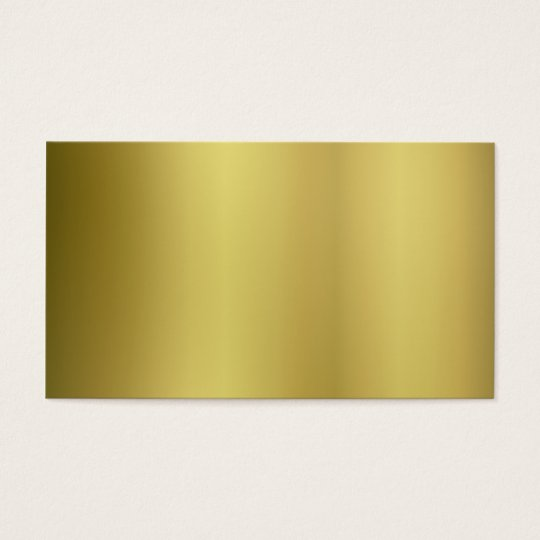 Gold Template Back Customise Business Card