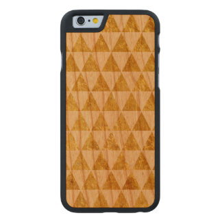 Gold texture carved® cherry iPhone 6 case