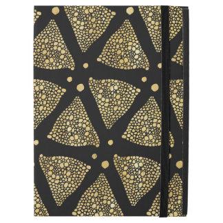 Gold Texture Triangles Modern Pattern GR2