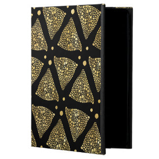 Gold Texture Triangles Modern Pattern Powis iPad Air 2 Case