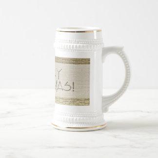 Gold Textured MerryChristmas, 2008 Mug