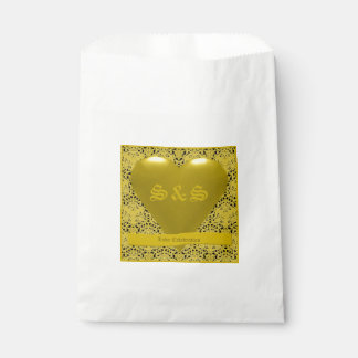 Gold Theme Favor Bag