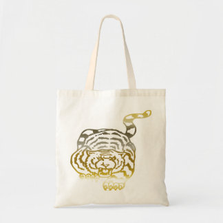 Gold Tiger - Budget Tote