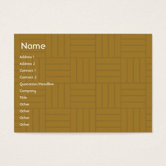 Gold Tile - Chubby Business Card