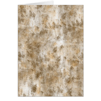 Gold Tones Abstract Greeting Card
