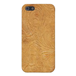 Gold Tool Leather Pattern Speck Case iPhone 4 iPhone 5/5S Cases