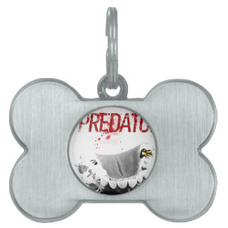 Gold Tooth Predator Pet ID Tag