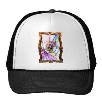 Gold Transformation Mesh Hats