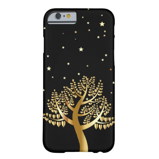 Gold tree barely there iPhone 6 case