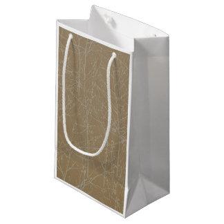 Gold 'Tree' Gift Bag