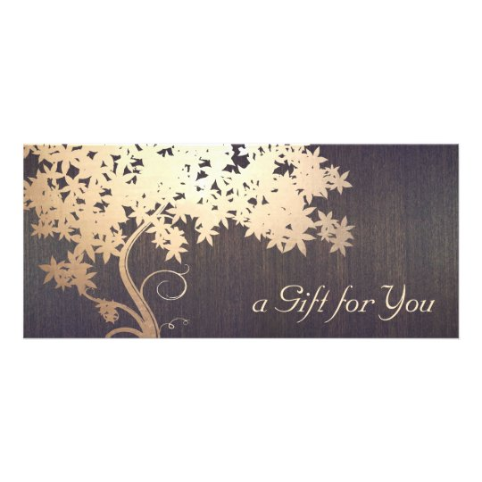 Gold Tree Massage Therapist Gift Certificate