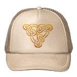 Gold Trinity Knot Hat