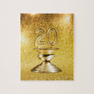 Gold Trophy Jigsaw Puzzle