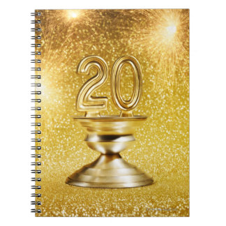 Gold Trophy Notebooks