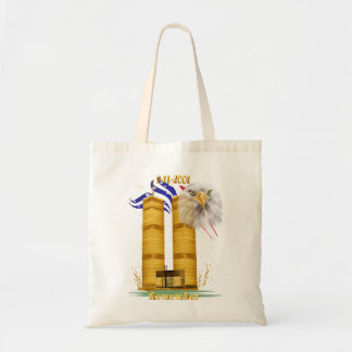 Gold Twin Towers, Eagle n Flag  Bags