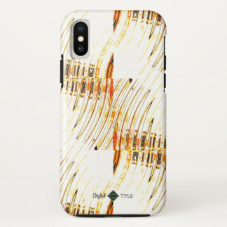 Gold Tyle iPhone X Case