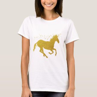 Gold Unicorn T-Shirt