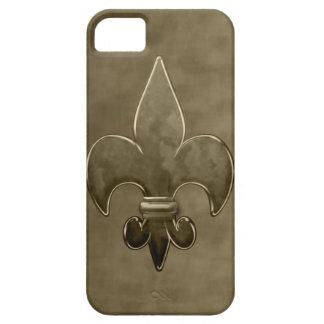 Gold Velvet Saints Fleur De Lis iPhone 5 Cover