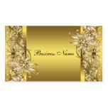 Gold Victorian Flower Elegant Gold