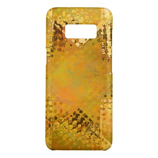 Gold vintage halftone star Case-Mate samsung galaxy s8