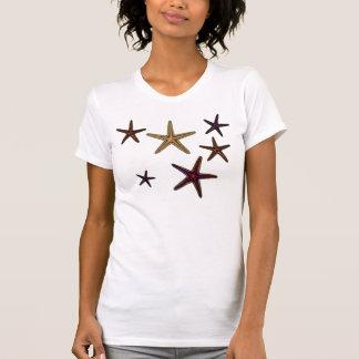 Gold, Violet & Orange STARFISH T-Shirt