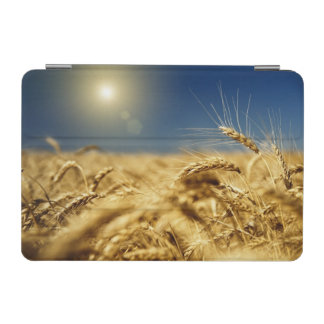 Gold wheat and blue sky with sun iPad mini cover