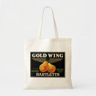 """Gold Wing Bartletts"" Bag"
