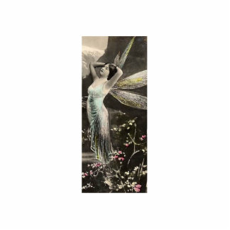 Gold Winged Fairy Faerie Photo Sculpture