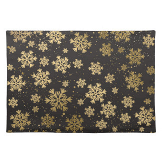 Gold Winter Placemat