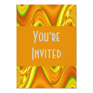 gold yellow abstract card