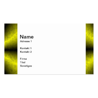 Gold - yellow-black rainbow pack of standard business cards