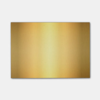 Gold Yellow Gradient Abstract Art, Post-It Notes