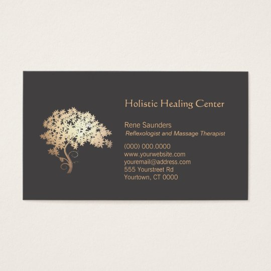 Gold Zen Tree Holistic and Natural Healer Business