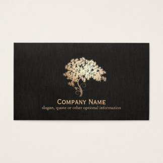 Gold Zen Tree Holistic and Natural Health Logo