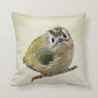 Goldcrest with Crown Cushion