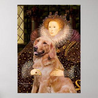 Golden (#1) -  Queen Elizabeth I Print