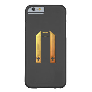 "Golden ""3-D"" Liturgical Stole Barely There iPhone 6 Case"