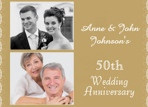 50th anniversary invitations & announcements zazzle.co.uk