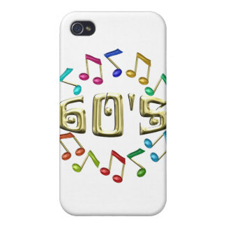 GOLDEN 60s iPhone 4/4S Covers