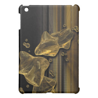 Golden Abstract Cover For The iPad Mini
