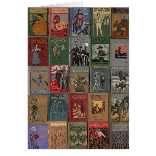 Golden Age of Book Design Card