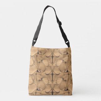 Golden  Alligator Tote Bag