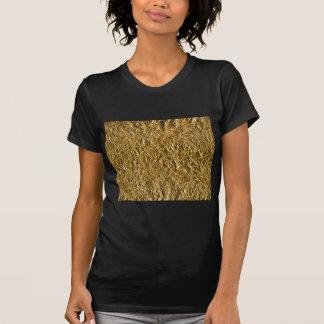Golden Aluminium Background T-Shirt